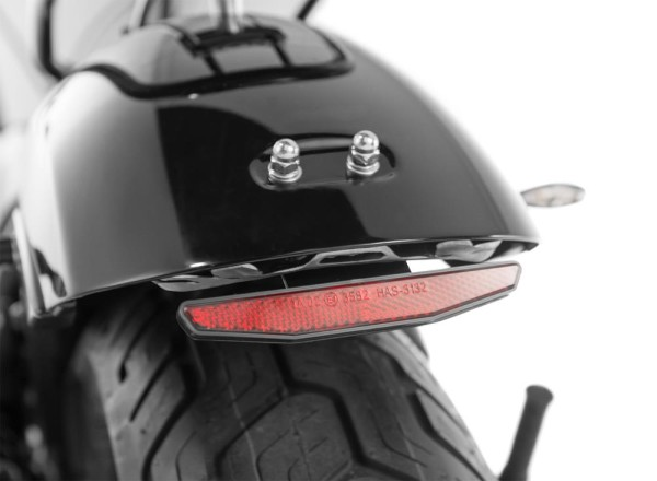 Reflector with holder and E number for Honda CMX 500 Rebel PC56